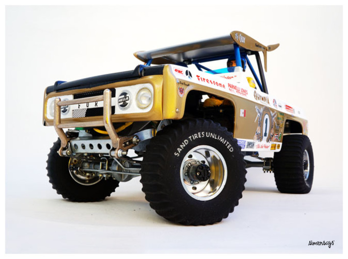 Simensays Big Oly Grille 3d printed