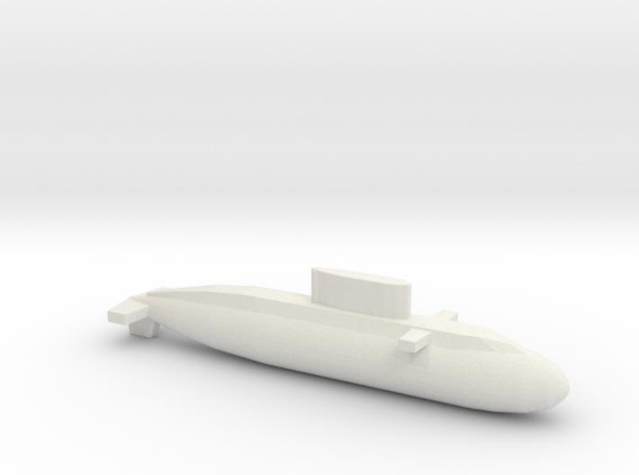 Kilo-Class, Full Hull, 1/2400 3d printed