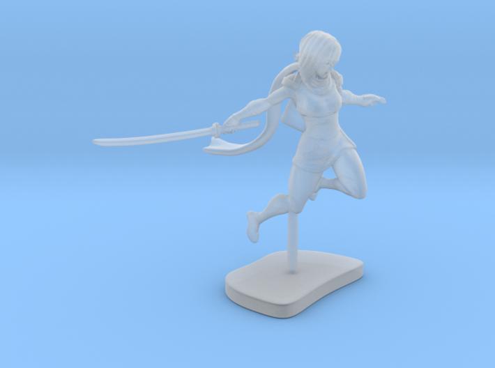Ninja Girl 3d printed