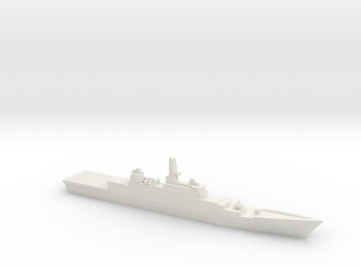 Strike Cruiser MK II, 1/1800 3d printed