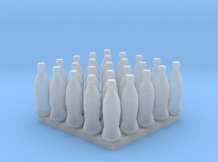 Bottles of Cola x25 3d printed