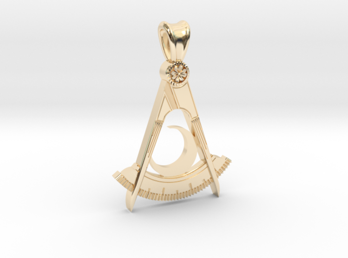 (small) DISTRICT DEPUTY PENDANT 3d printed