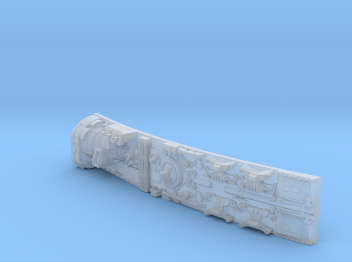 YT1300 MPC SIDEWALL LEFT CENTRE 3d printed