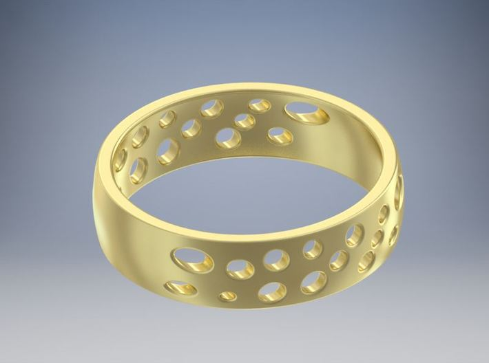 Cheese Ring Size 8 (18) 3d printed