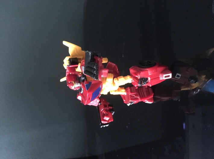 Combiner Wars Rodimus Axe Wing Peg Upgrade 3d printed