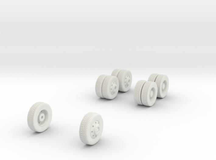 1/64 Wheels for Mack MR HAZMAT 3d printed