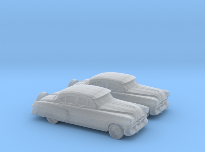 1/120 2X 1951 Pontiac Chieftan Sedan 3d printed