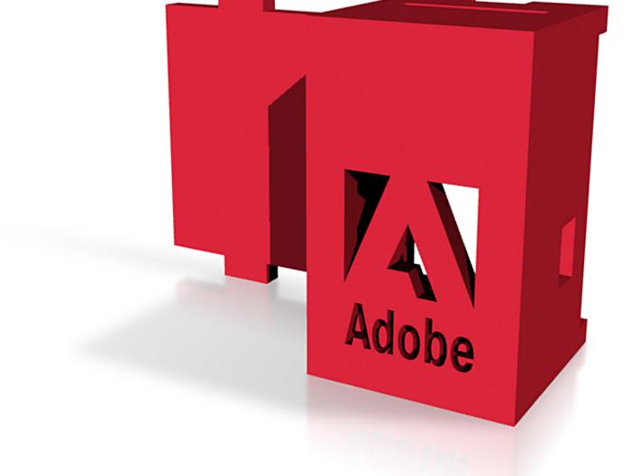 Adobe Logo USB Wireless RGB Lamp 3d printed