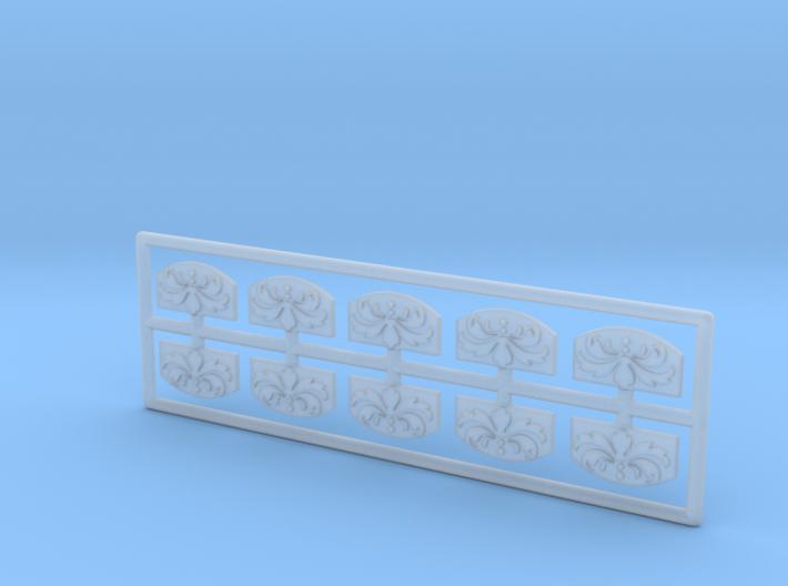 Spiegel Pferdekarussell - 1:160 (N scale) 3d printed