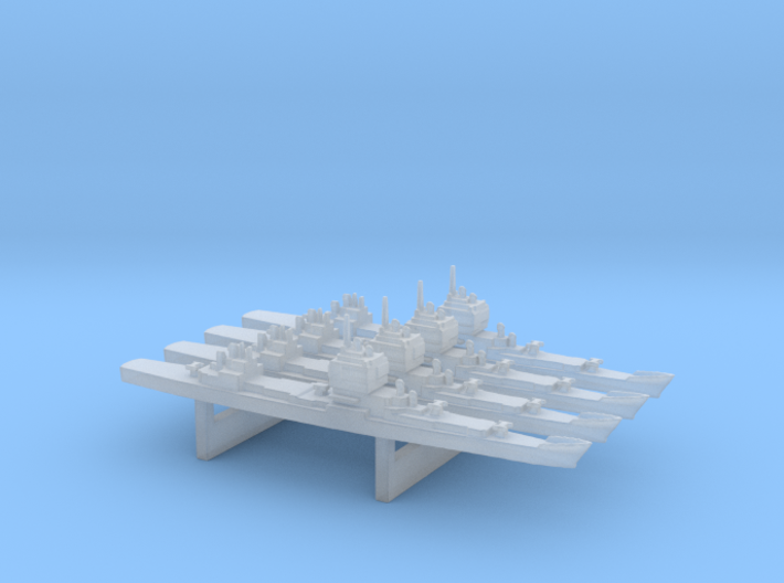 Early Long Beach Pack, 4pc, 1/6000 3d printed
