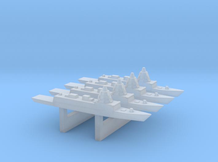 ESPS F-110 Frigate 4, 1/6000 3d printed
