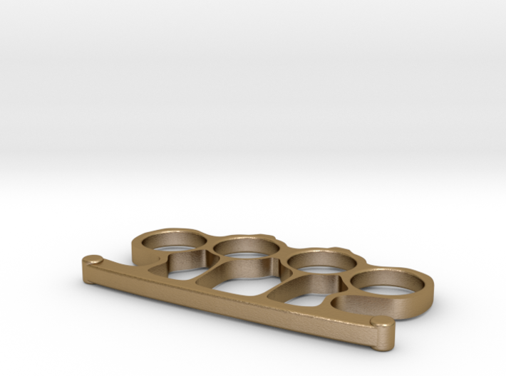 Brass Knuckles 3d printed