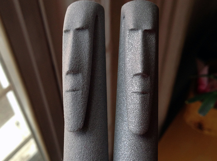 Stone Mask Fountain Pen Components 3d printed