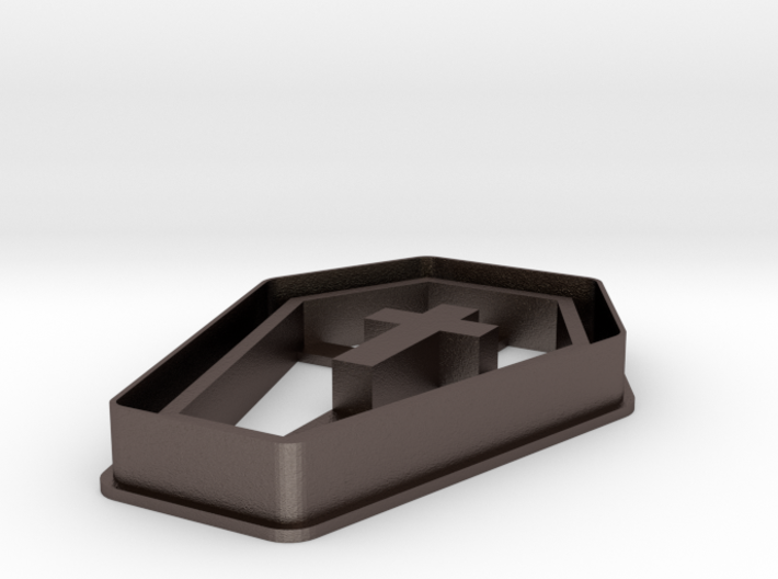 Coffin Cookie Cutter 3d printed