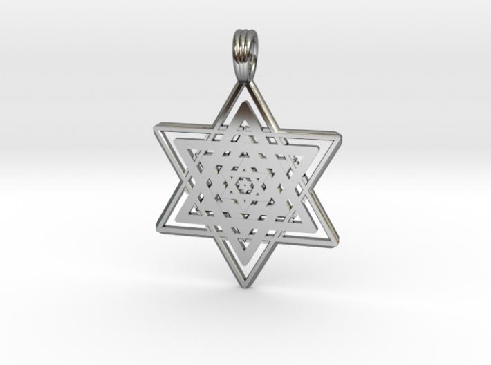 FRACTAL STAR OF DAVID 3d printed