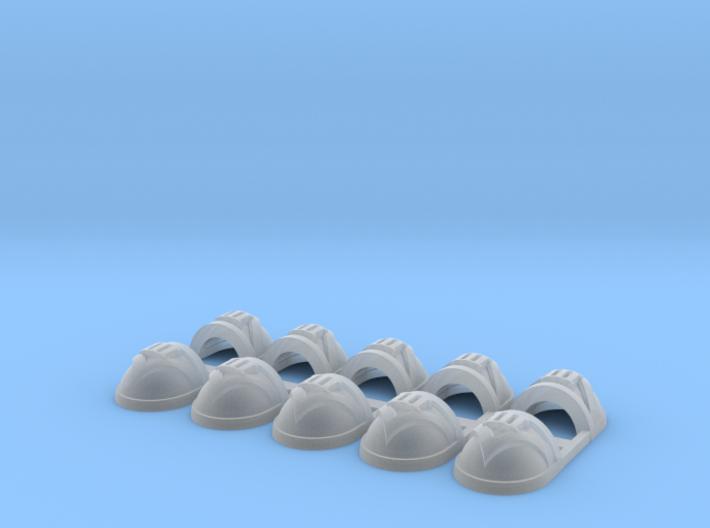 10x Devastator 3 - G:7a Shoulder Pad 3d printed