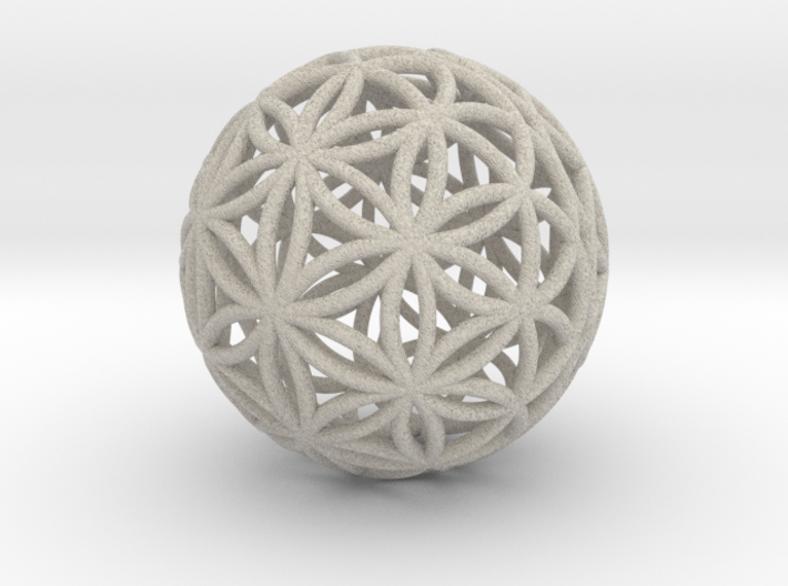 Special Edition 190mm Thick Flower Of Life 3d printed