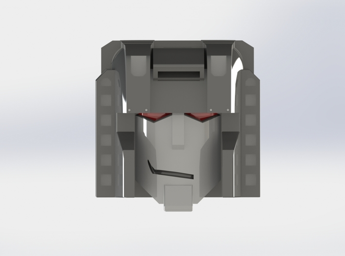 MP Seeker Drone Head Smile 3d printed