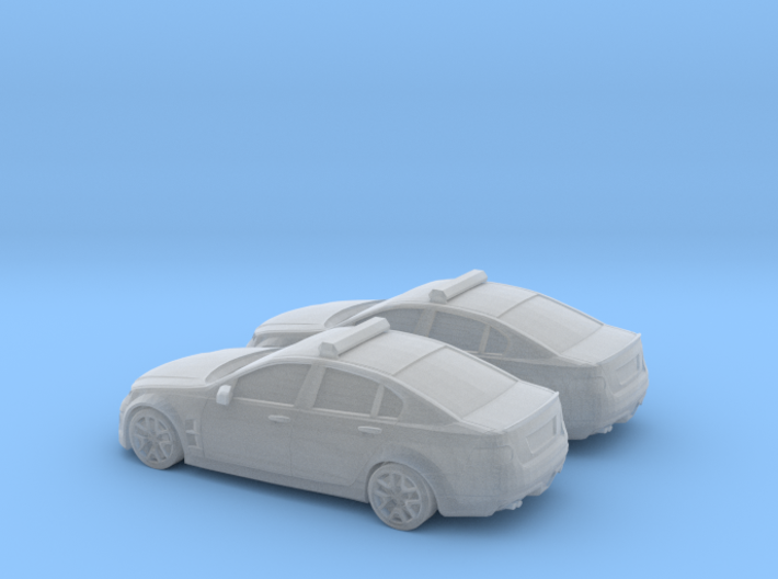 1/200 2X Holden Commodore Australian Police 3d printed