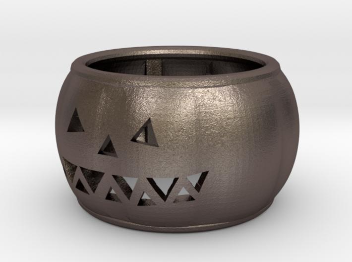 Pumpkin Ring 19mm 3d printed