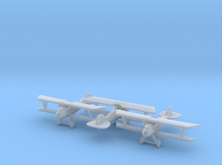 1/285 Albatros DVa x3 3d printed