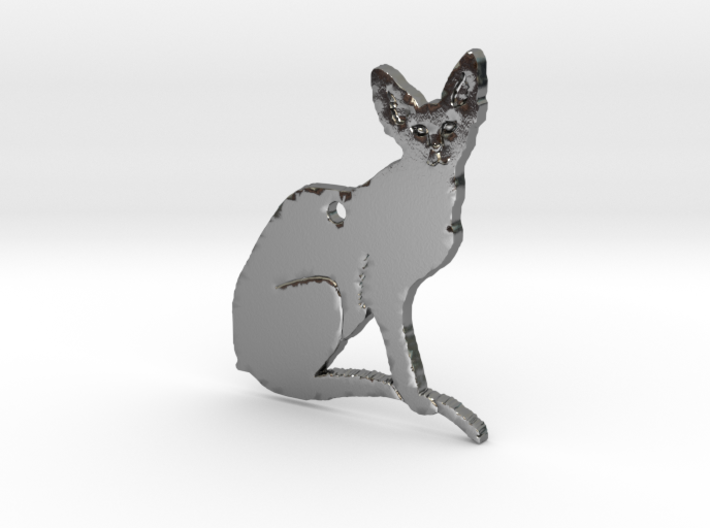Oriental Cat with Details FINAL 3d printed