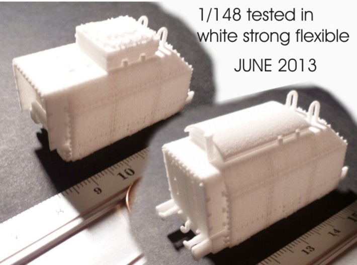 1-148 Spare Tender For BP-42 3d printed