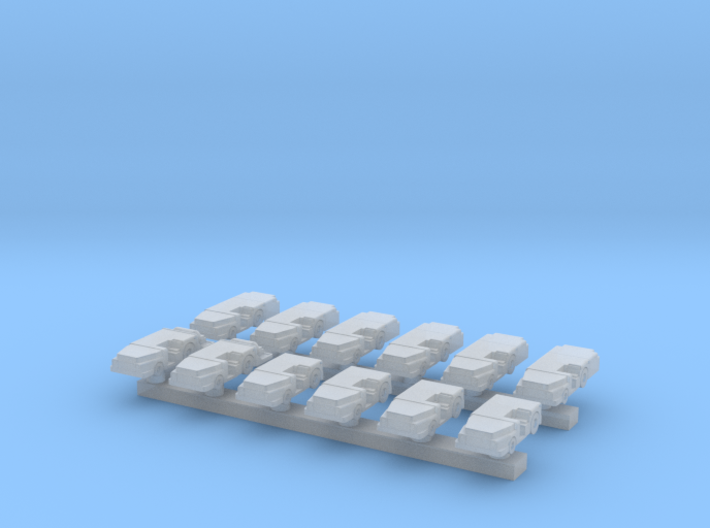 1:285 Scale MD-3 Tow Tractors (12x - Early Types) 3d printed