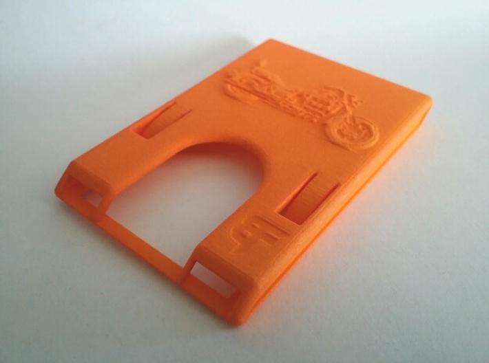 Minimalist Rapid Access Wallet Custom 3d printed