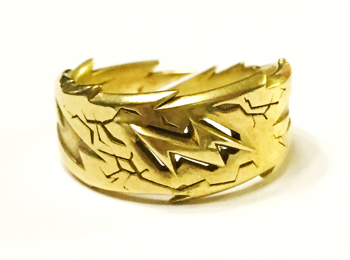 Power : Zeus Ring Size 6 3d printed Power, Confidence, Express yourself!