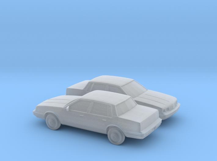 1/160 2X 1982-96 Oldsmobile Cutlass Ciera 3d printed