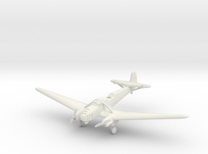 Focke-Wulf Fw 58B Weihe (with landing gear) 1/285 3d printed
