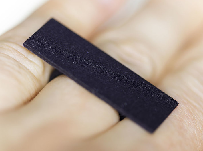 Censorship Ring 3d printed The Censorship Ring, 3D printed in Black Strong & Flexible plastic.