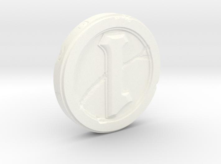 Hearthstone Coin Replica 3d printed