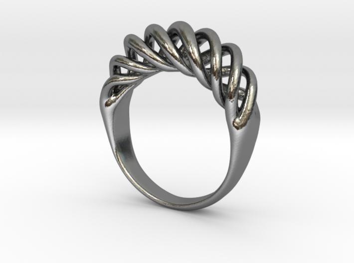 Twist Ring 3d printed