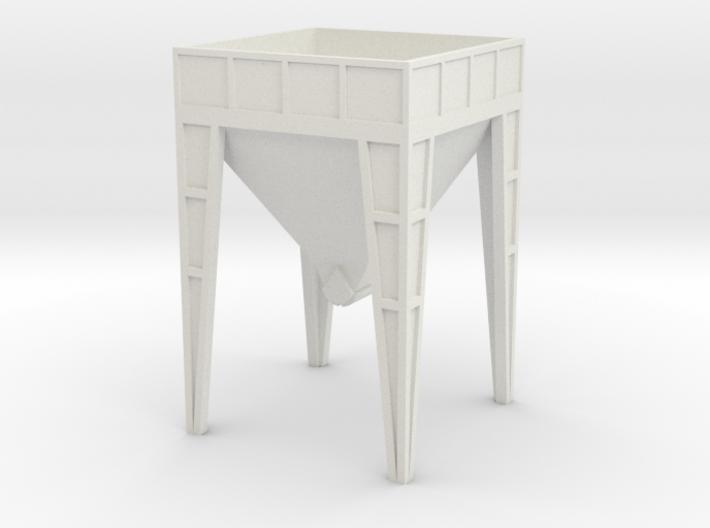 N Scale Aggregate Hopper #2 3d printed