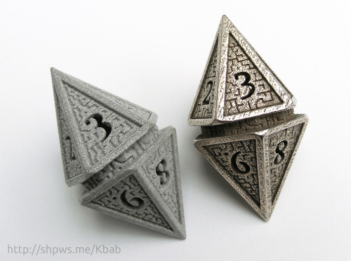 Hedron D10 Spindown Life Counter - HOLLOW DIE 3d printed This model is suitable for printing in both metal and plastic