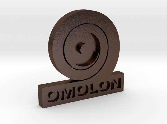 Omolon Foundry Personal Emblem 3d printed