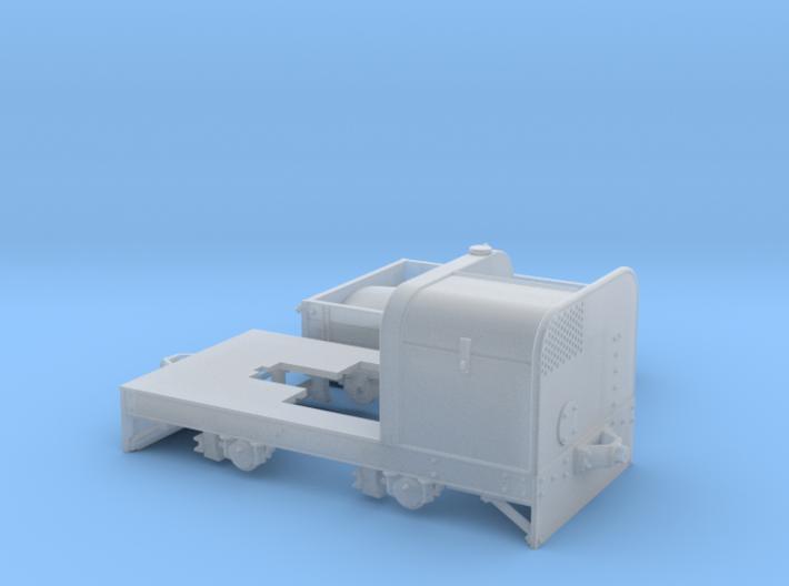 Jung Feldbahndieseltriebwagen Spur 1e/f 1:32 Var2 3d printed