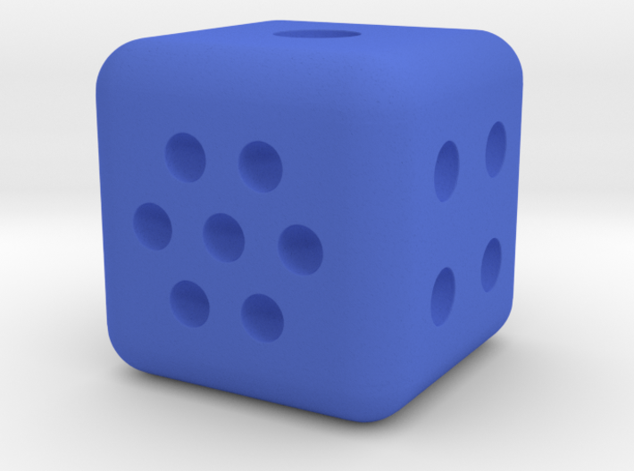 Variable pip die - roll your own dice 3d printed