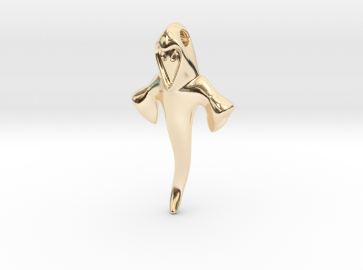 Ghost Pendant 1 3d printed