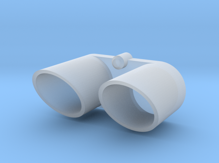 416005-01 Rising Fighter Exhaust Tips 3d printed