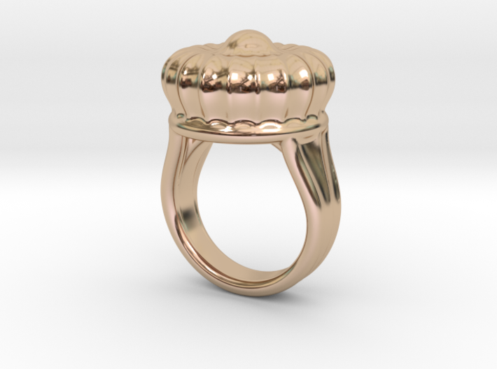 Old Ring 29 - Italian Size 29 3d printed