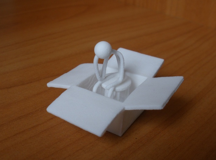 Thinking Outside The Box 3d printed