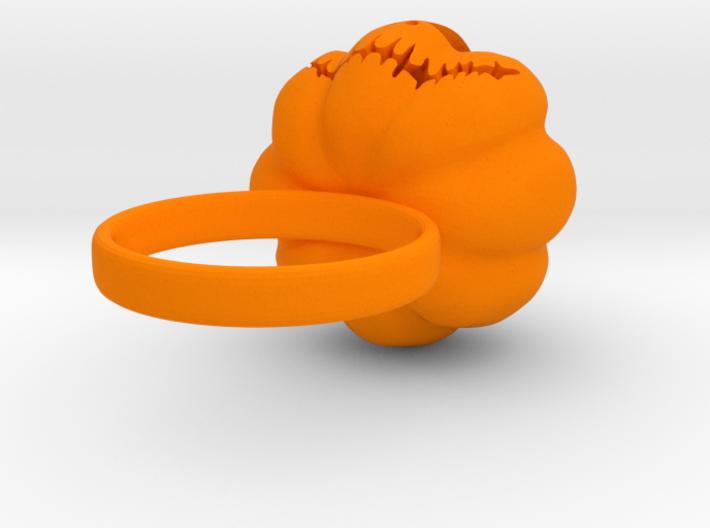 Pumpkin ring - Size 5 3d printed