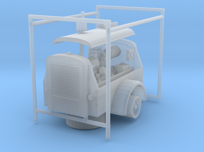 1/50th Ingersoll Rand Air Compressor 3d printed