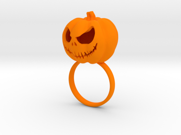 Pumpkin ring - Size 6 3d printed
