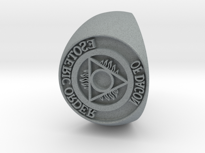 Esoteric Order Of Dagon Signet Ring Size 11.5 3d printed