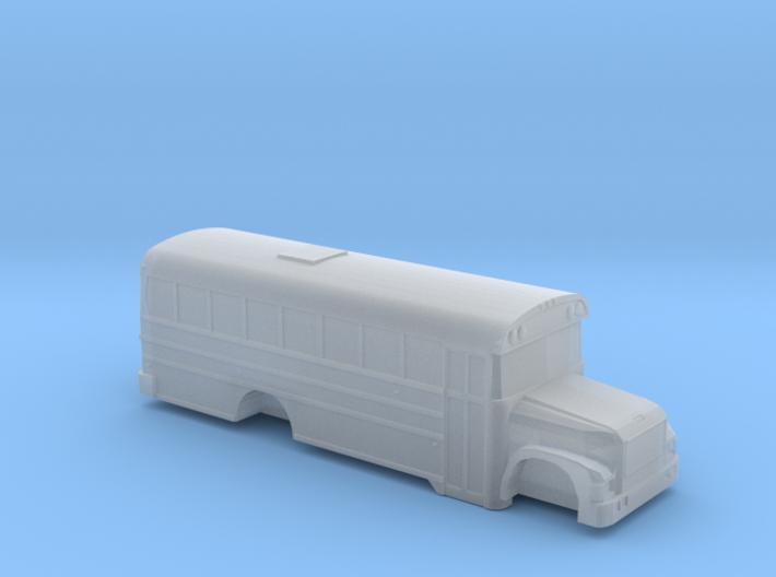 n scale BB international 3800 school bus (short) 3d printed