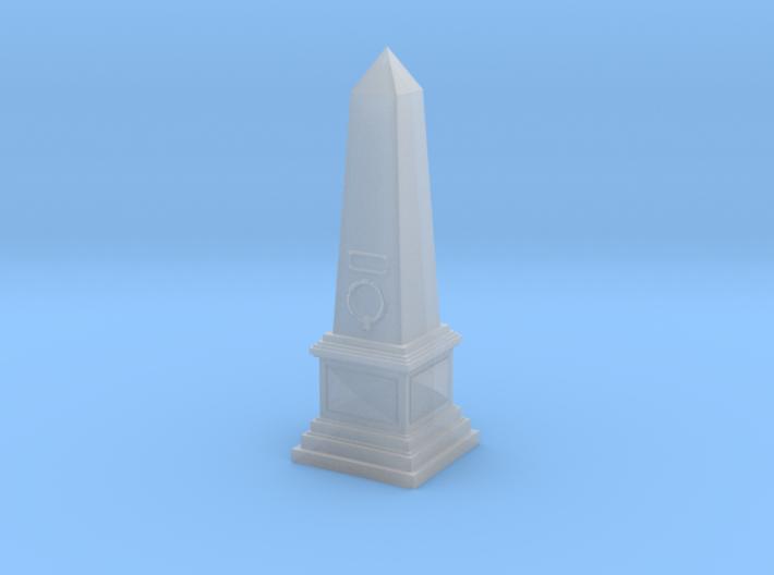 Obelisk monument (N 1:160) 3d printed